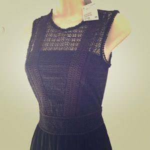 NWT H&M Maxi dress, black, XS